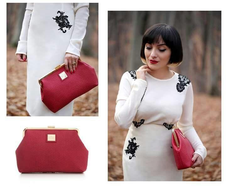 Să fii o apariție de invidiat nu e imposibil de realizat! Accesorizează-ți outfit-ul cu un clutch roșu și gata: ai un look ultra stylish! <3   #loveYVYBAGS #leatherhandbags #YVYBAGSfactory #BrandEst1969 #bags #fashion #style #accesoriess #leathergoods #bagsaddict #bagslovers #bagstagram #bagsoftheday #spring #yvystagram #createdwithlove #wearITtoWalk