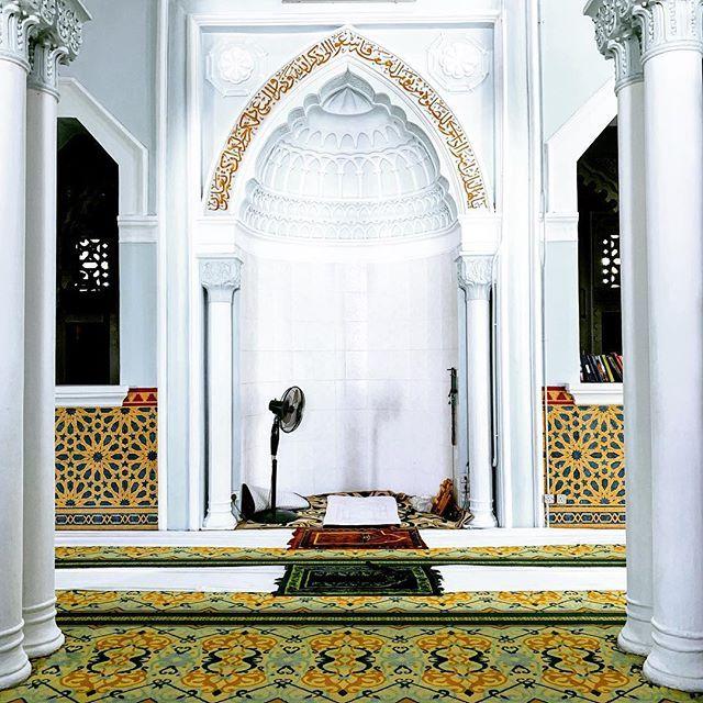 Mihrab Of Masjid Zahir Alor Setar Arsitektur Masjid Arsitektur Desain