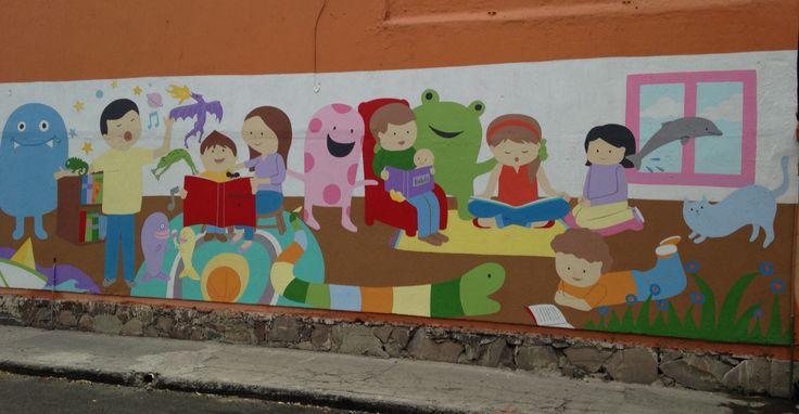 Murales en escuelas. Sembrando valores #proyectoarteurbano