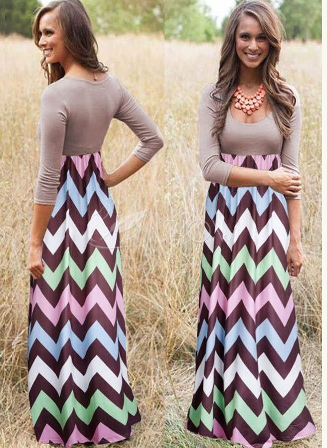 Сращивания длинные волнистые полосы смокинг t выводит платье