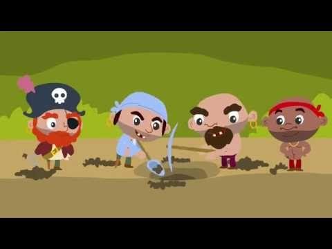 CUENTO INFANTIL: Los Piratas y El Tesoro Perdido | Cuentos Infantiles - YouTube