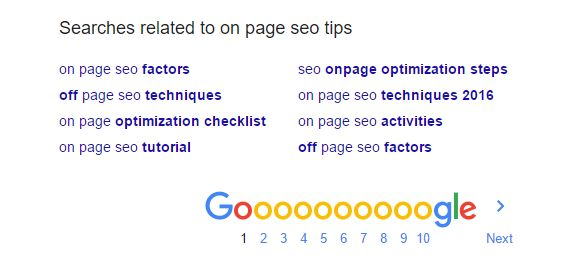 LSI Keywords - On Page SEO Tips and Trick