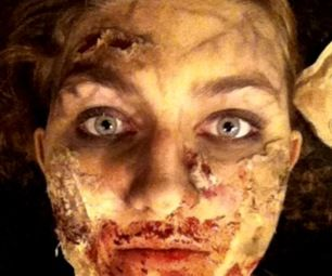 Zombie Makeup with Household Items