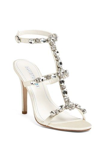 Oh my goodness!!!  Are you worthy of these gorgeous shoes!?  I think so! #davidtutera 'Worthy' Sandal