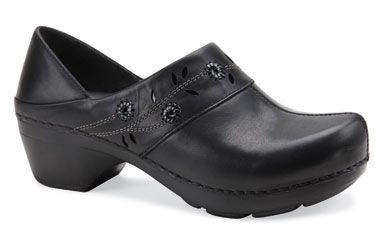 Dansko Summer Black Full Grain