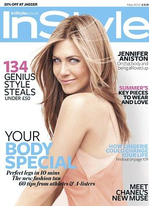 In a recent interview with InStyle magazine, Jennifer Aniston says 2012 for her will be about enjoying life with her new man Justin Theroux.    Read more: http://www.bellenews.com/2012/04/04/entertainment/jennifer-aniston-instyle-magazine-interview-i-dont-feel-my-age/#ixzz1r4urn9Ft