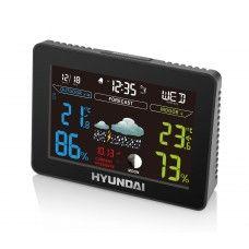 #HYUNDAI Funk #Wetterstation - #Uhr #Hygrometer #Thermometer #Wettervorhersage #Wecker