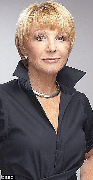 The witty and sharp Anne Robinson showing off her glamorous side