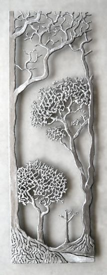 Provence: Bernard Collin: Metal Wall Sculpture - Artful Home
