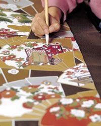 Yuzen, Traditional Silk Dyeing for Kimonos