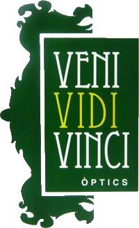 Logo Veni Vidi Vinci Òptics, tu óptica en Sitges