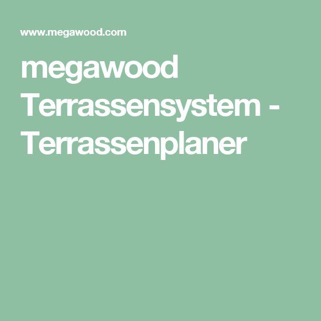 megawood Terrassensystem - Terrassenplaner