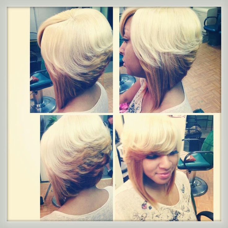 african american little girl braid hairstyles : African American Feathered Bob Hairstyles