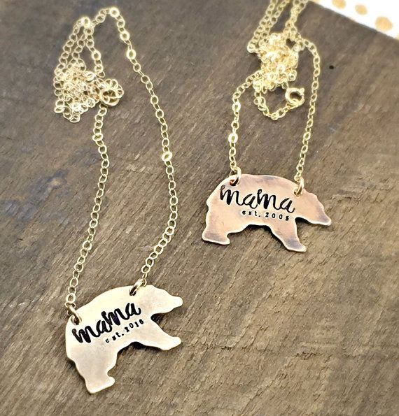 mama bear necklace - Tag...You're It Jewelry