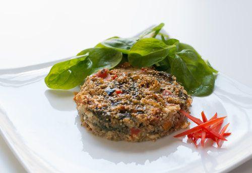 quinoa vegetable bake