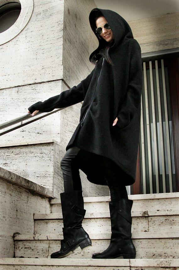 Oversize coat.Extravagant coat. Luxury by MIAatelier on Etsy