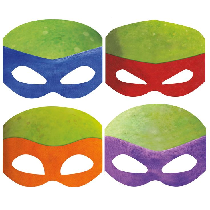 I think I could make these out of paper plates and let the kids color them so they can be their favorite TMNT.