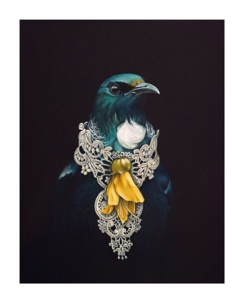 'She of The Kowhai Tree' by Jane Crisp.