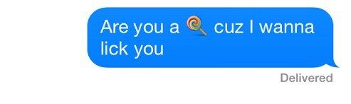 This person asking the important questions. | The 16 Best Emoji Sexts To Ever Happen