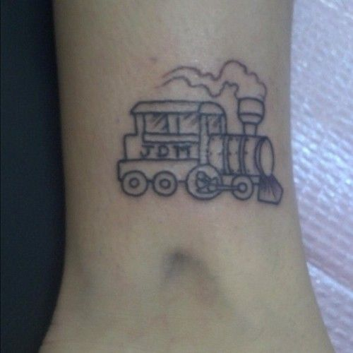 steam train tattoo - Google zoeken
