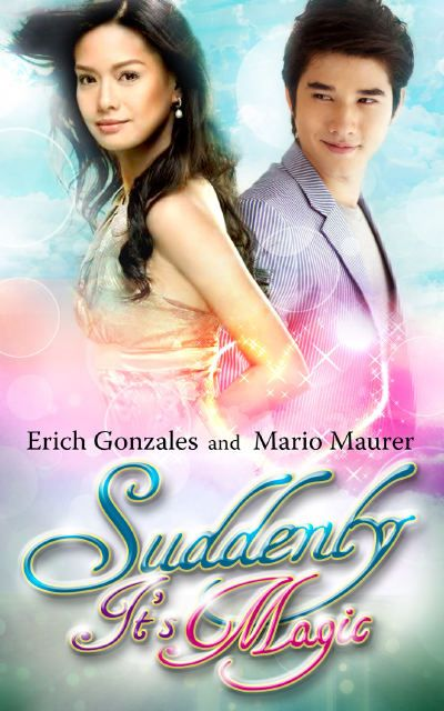 Watch the first interview in Thailand of Erich Gonzales and Mario Maurer for their first movie together, Suddenly It's Magic.