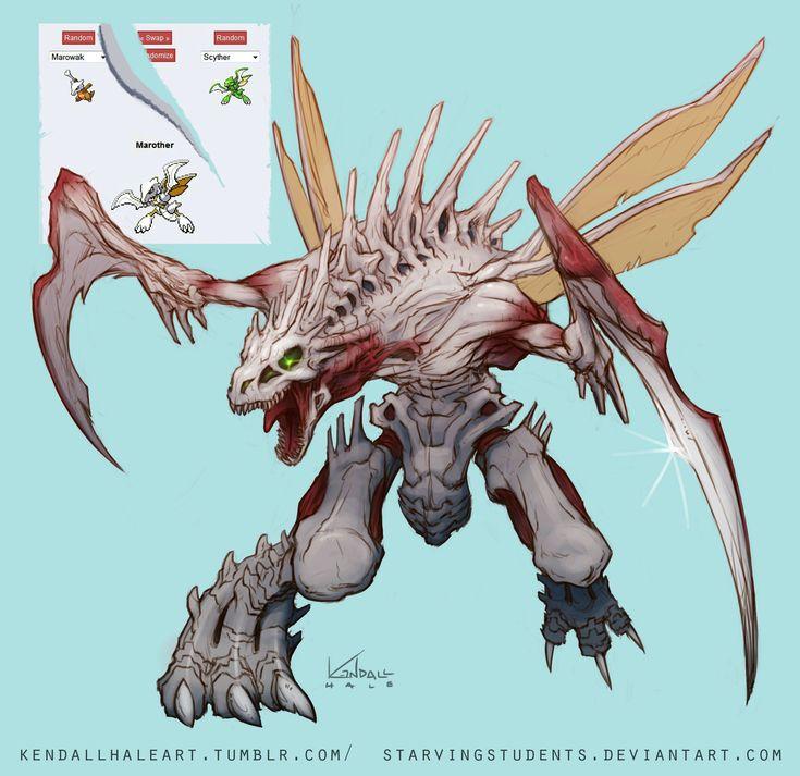 Pokemon fusion. Cool!