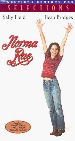 """NORMA RAE"". (1979) SALLY FIELDS, BEAU BRIDGES, PAT HINGLE"