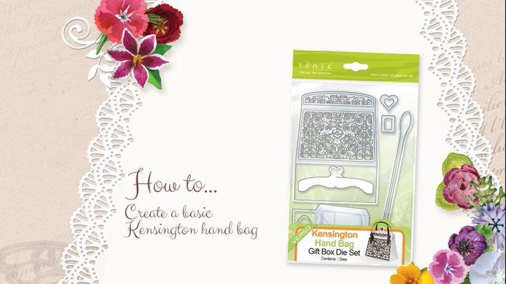 How to Make the Kensington Handbag - Tonic Studios Tutorial - Jodie Johnson - YouTube