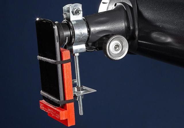 Diy Smartphone Mount For A Telescope Popular Mechanics Astronomy Astrophotography Astronomyarticles Diy Telescope Telescope Astronomy