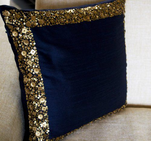 Amore Beaute Handcrafted Throw Pillow Covers - Navy Blue ... http://www.amazon.com/dp/B00EY9E1DU/ref=cm_sw_r_pi_dp_Udxsxb143252Z