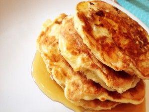 Apfel-Pancakes