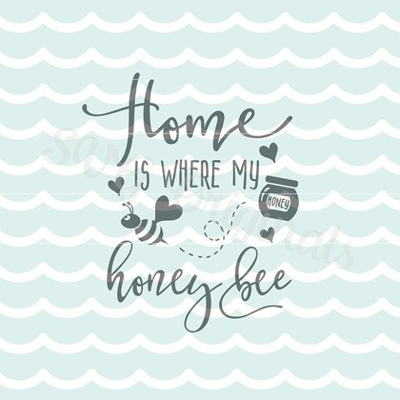 Home is Where SVG File. Cricut Explore and more. by SVGoriginals