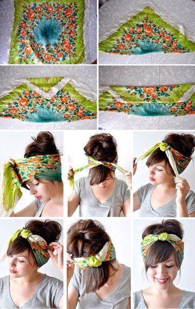 how to wear a bandana