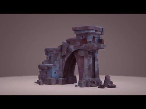 Ruins Setup Animation - YouTube