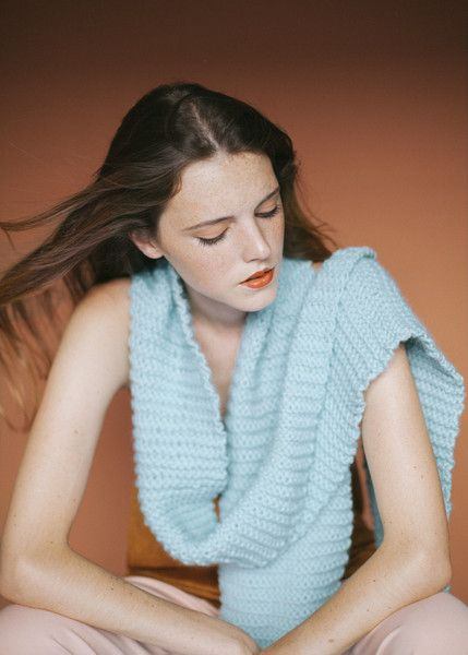 """Kits para tejer """"Morse Scarf""""  from We Are Knitters by DaWanda.com"""