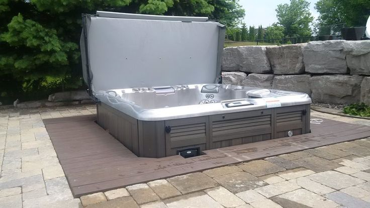 """The Sundance Spa Store, Just Did This Stunning New Installation #hottubs #spas Sundance® Spas 880 Series Cameo™ Named A """"Best Buy"""" By Consumers Digest 3 Times."""