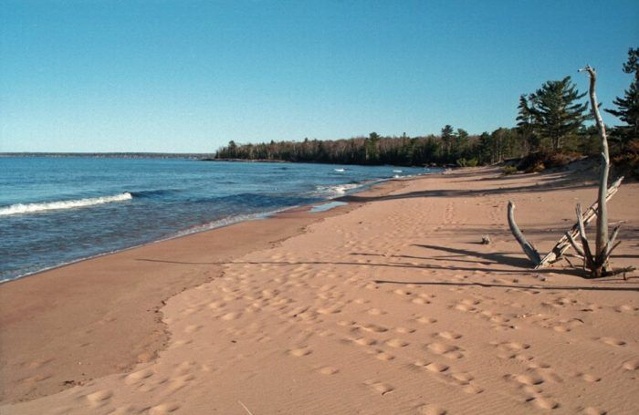 Ten spectacular Wisconsin beaches:  3. Julian Bay Beach (Stockton Island)