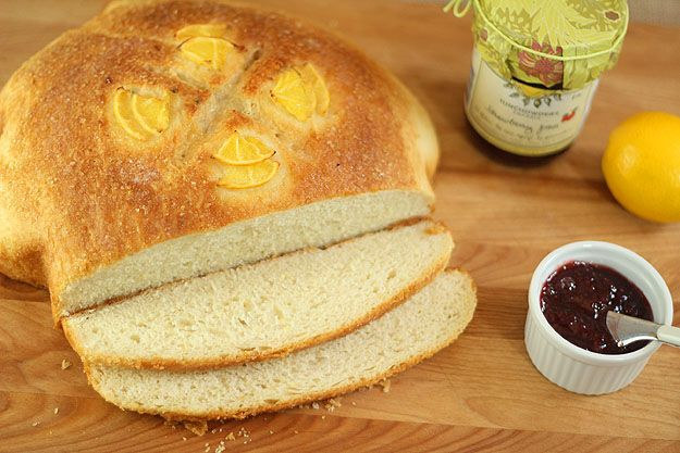 Meyer Lemon Peasant Boule for Baketogether from Creative Culinary ...