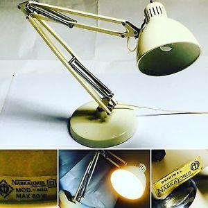 Lampada da tavolo Vintage NASKA LORIS Mod. Naska Jac Jacobsen 1931 Panna   eBay
