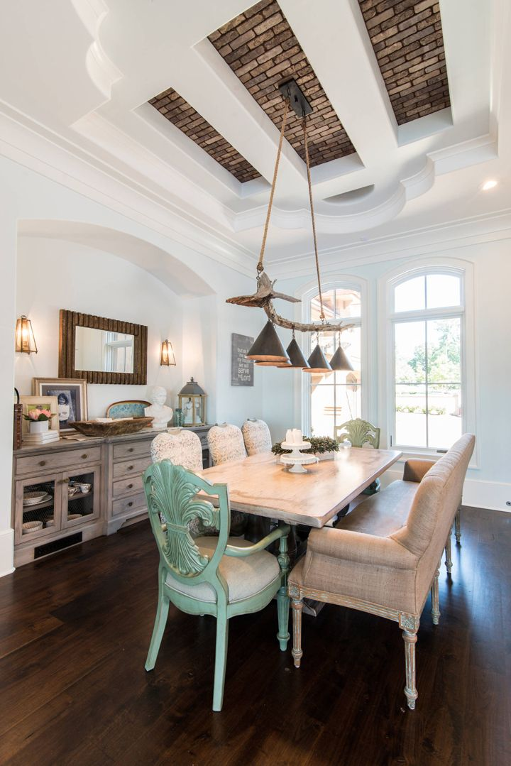 Beautiful dining room by weber design group