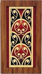 Maori Kowhaiwhai Lattice Wall Panel - maori, rimu, wall, panel, new, branded, lattice, ... - Shopenzed.com