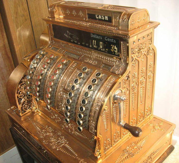 Cash register, Rare antique and Antiques on Pinterest