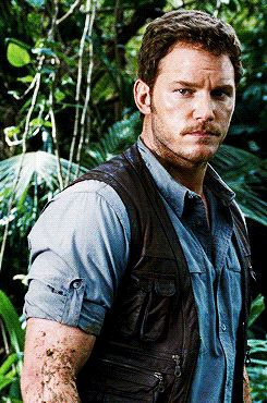 Chris Pratt Jurassic world.