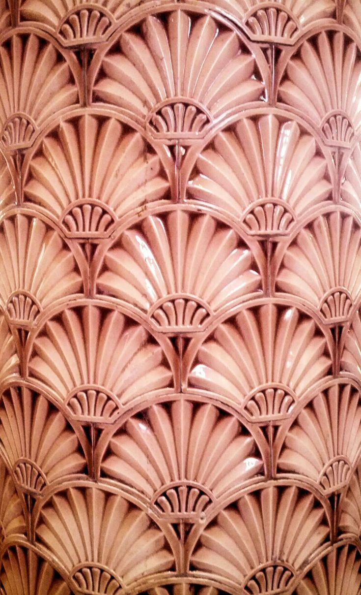Scallop shell tiles, Victoria Building, University of Liverpool, Built: 1892, Architect: Alfred Waterhouse, Style: Victorian Architecture