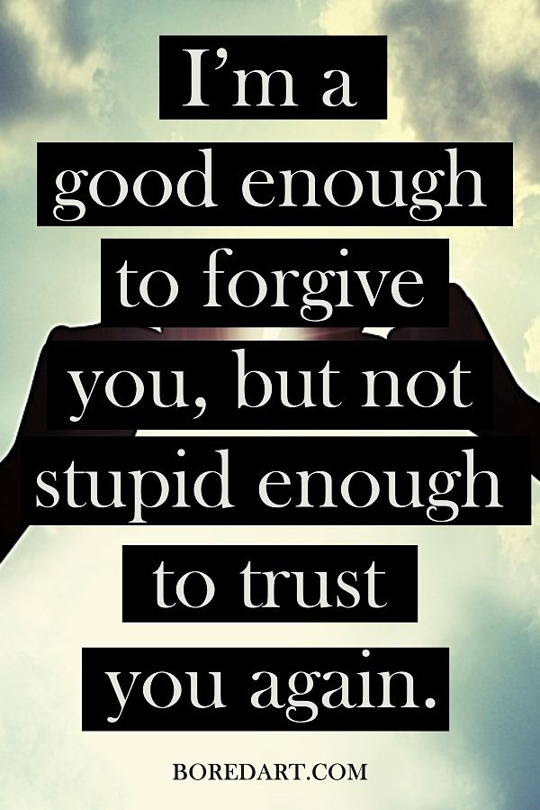 Sayings About Trusting