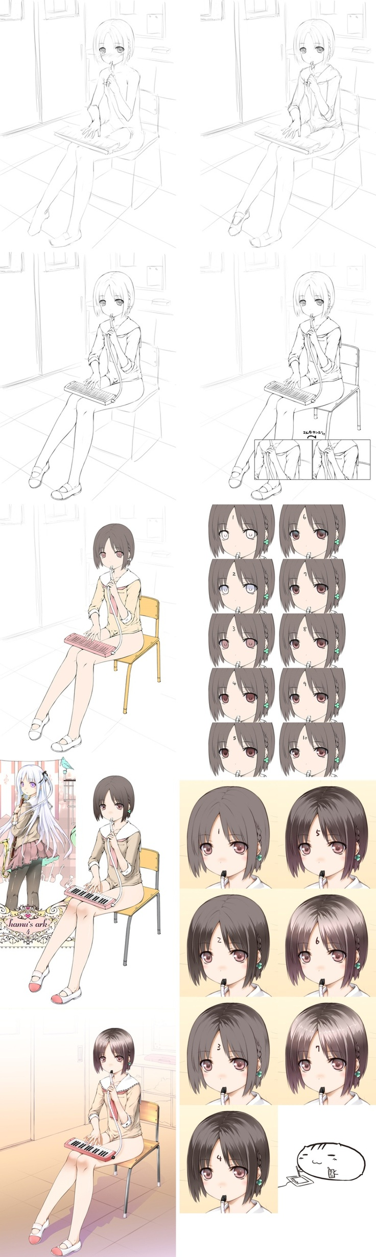 Cute Character Design Tutorial : Best images about illustration making on pinterest