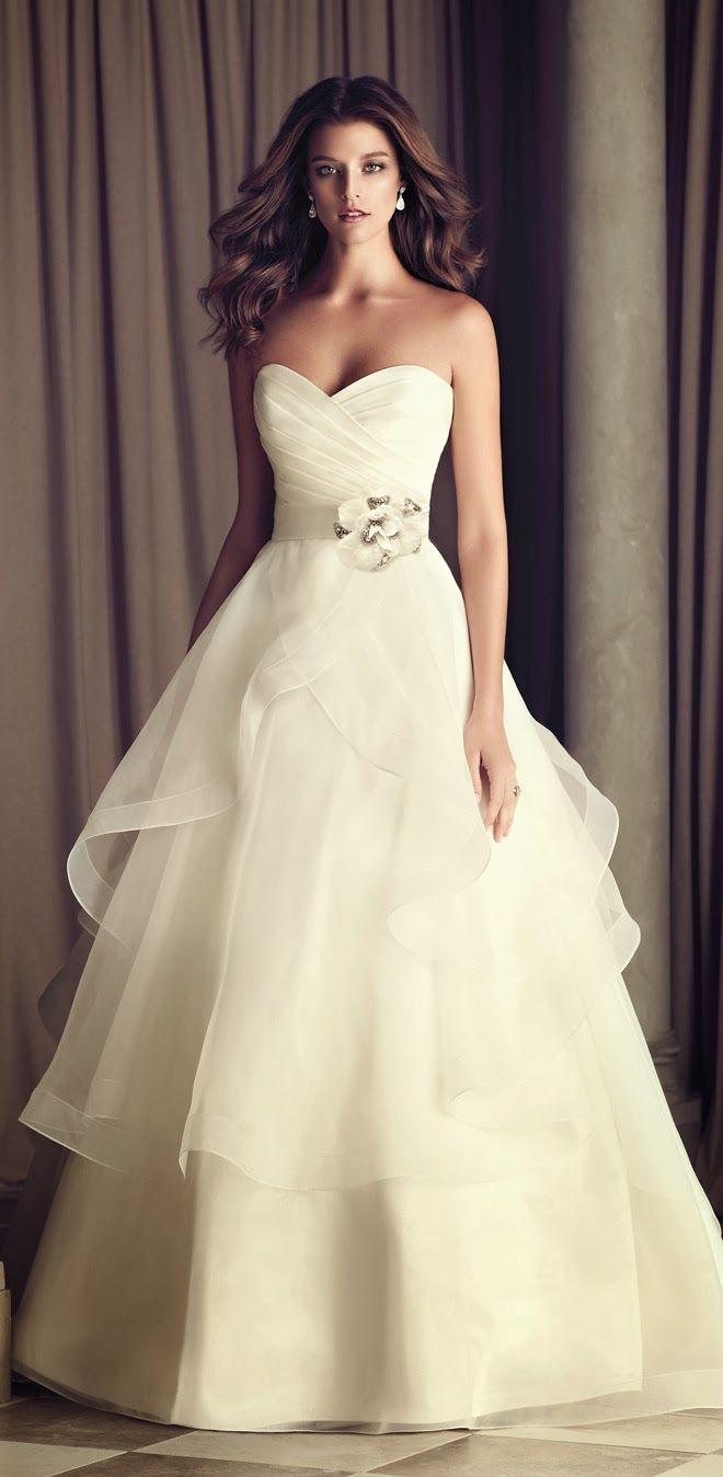 472 best images about Wedding on Pinterest Stella york Modest