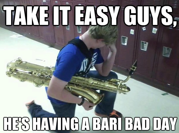 Band Jokes, i don't even play a sax, but this makes me giggle. :)