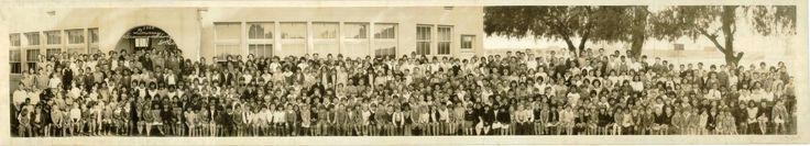 1929 Downey Grammer School, Downey, California