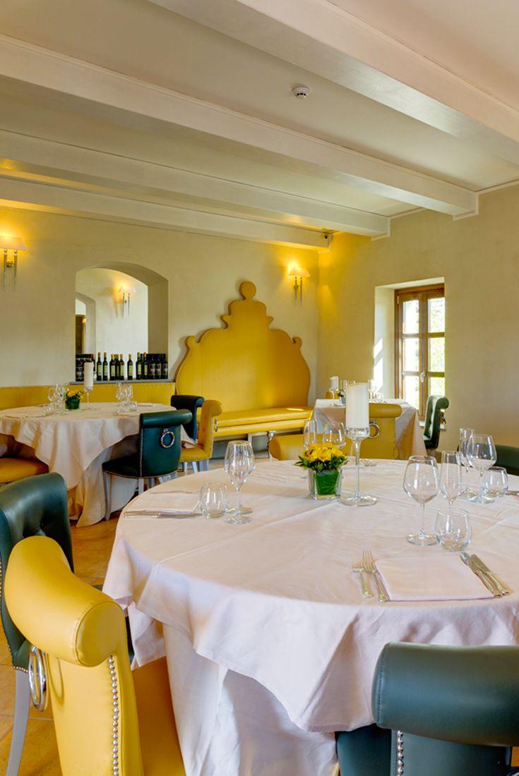 Il Conventino a Marignolle - Sala principale  #ristorante #lusso #toscana